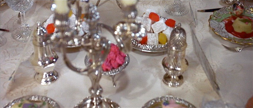 (above) Another shot of the table and its sweets.
