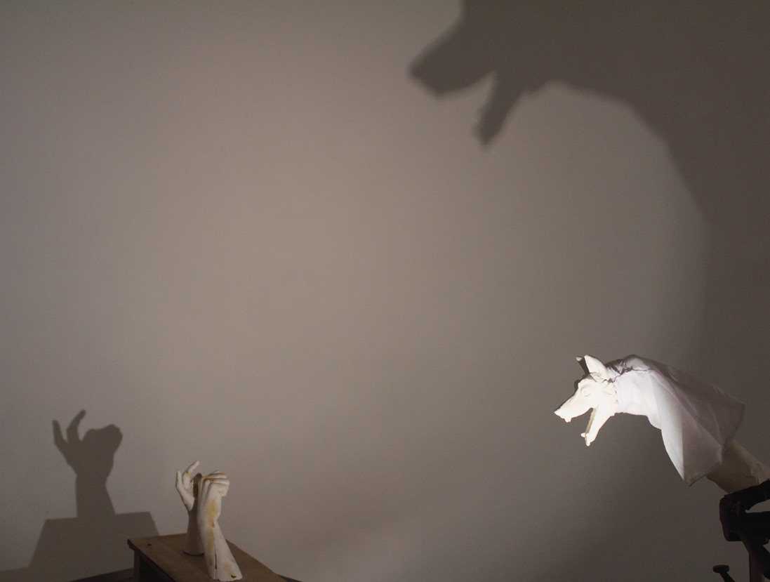 (above) 'Call and Response,' 2011. Another detail from the collaborative installation.