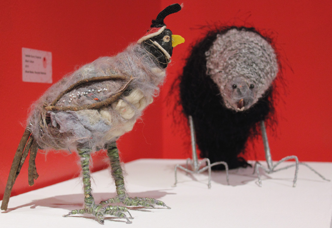 Isabelle Scurry Chapman, 'Birds of Lint,' 2010