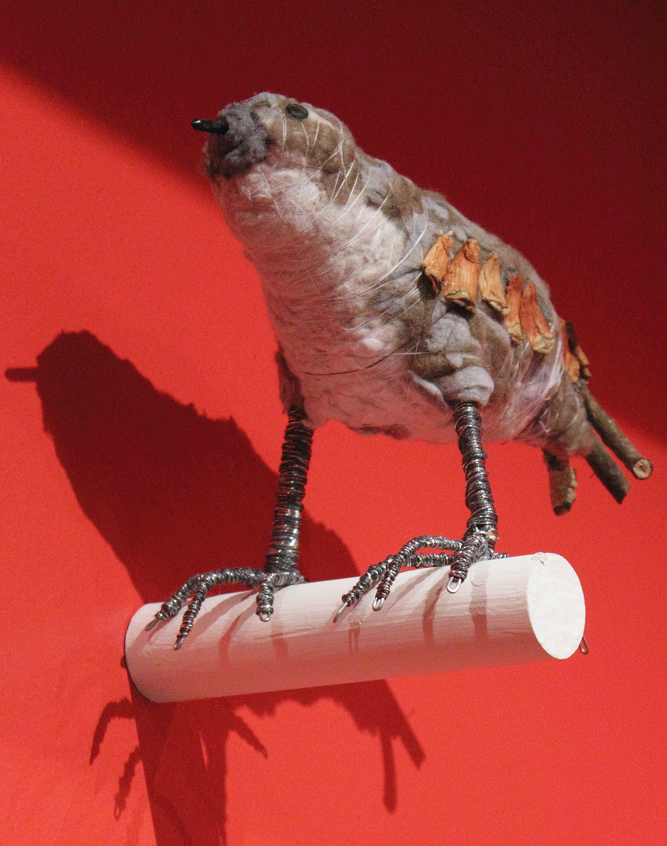 (above) 'Sandpiper,' 2010, mixed media and recycled materials