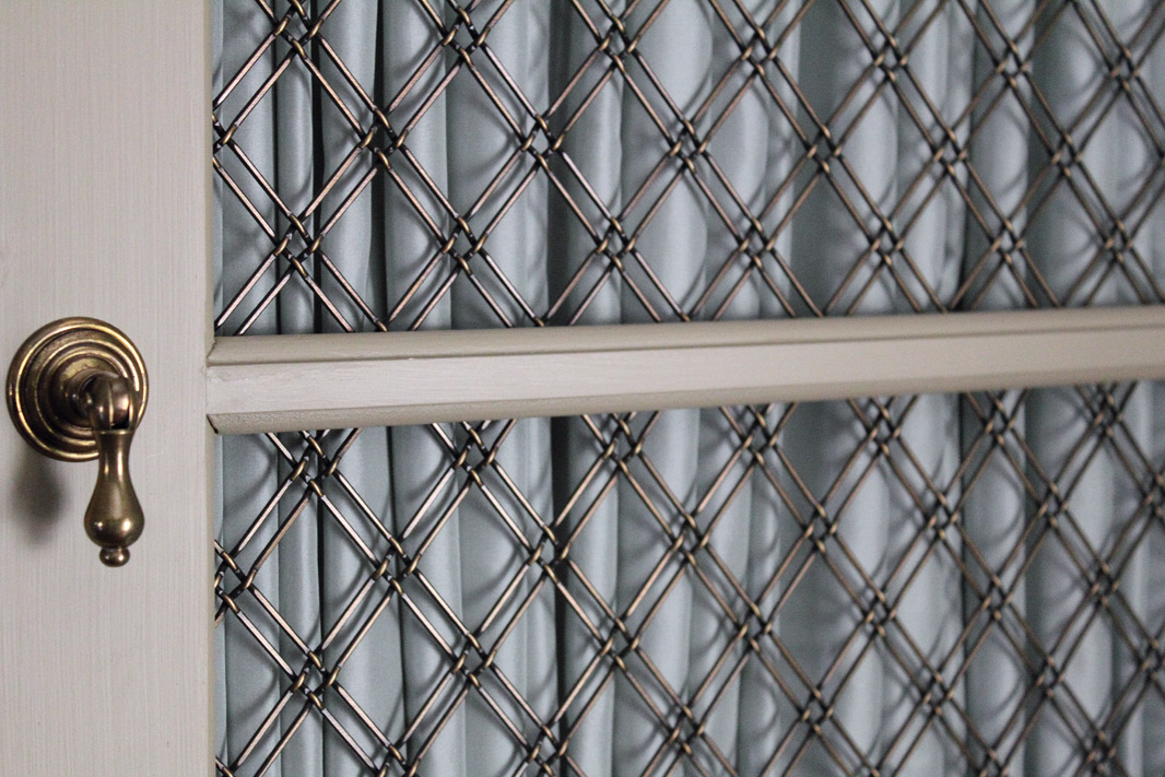 Decorative wire grille smallrooms