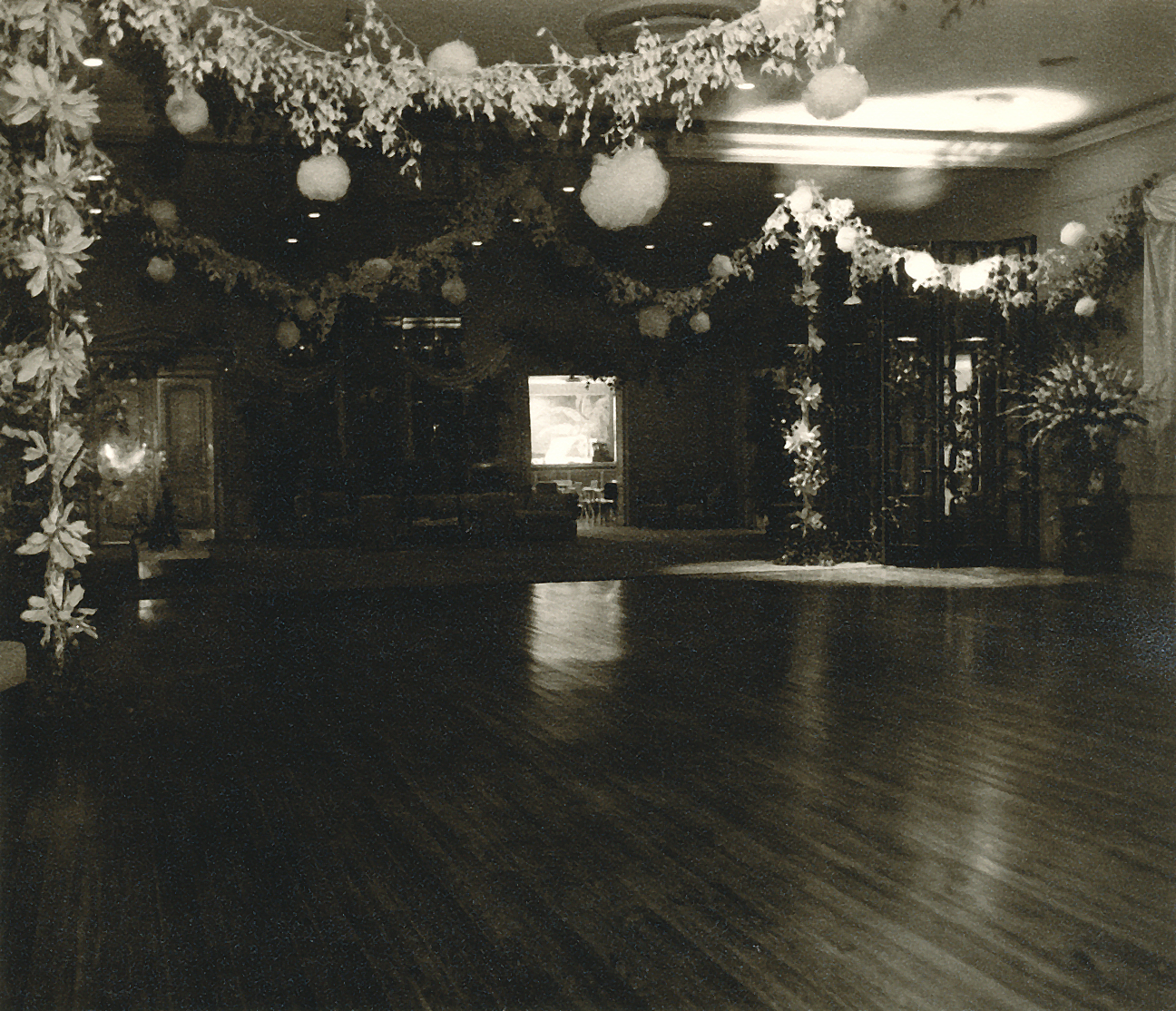 (above) The main ballroom at Brook Hollow Golf Club. Each deb is presented at her own ball by her parents. In this case my mother and a fellow deb, Gloria Slaughter, and their parents teamed up. It's much more affordable that way.