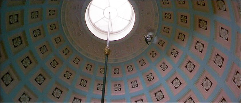 (above) Powderham Castle, the Music Room's domed ceiling